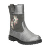 Girls' Boots with Embroidery mini-b, gray , 294-2202 - 13
