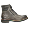 Leather Ankle Boots bata, gray , 896-2686 - 15