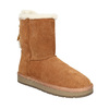 Ladies' Casual Leather Boots bata, brown , 593-4604 - 13
