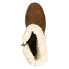 Ladies' Winter Boots with Buckle bata, brown , 699-4637 - 26