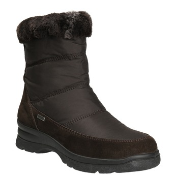 Ladies' winter boots, brown , 599-4618 - 13