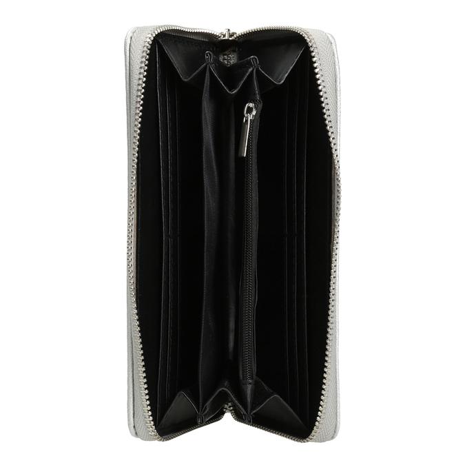 Silver Ladies' Wallet bata, silver , 941-2155 - 15