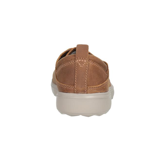 Ladies' leather sneakers merrell, brown , 506-4702 - 16