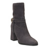 Leather Ankle Boots, gray , 793-2032 - 13