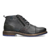 Leather Ankle Boots bata, gray , 896-2678 - 19