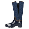 Ladies' blue wellingtons bata, blue , 592-9402 - 15