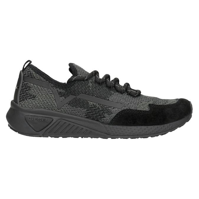 Ladies' sporty sneakers diesel, black , 509-6760 - 16