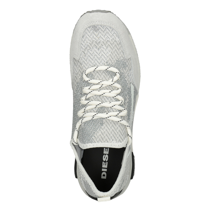 Ladies' sporty sneakers diesel, white , 509-1760 - 17