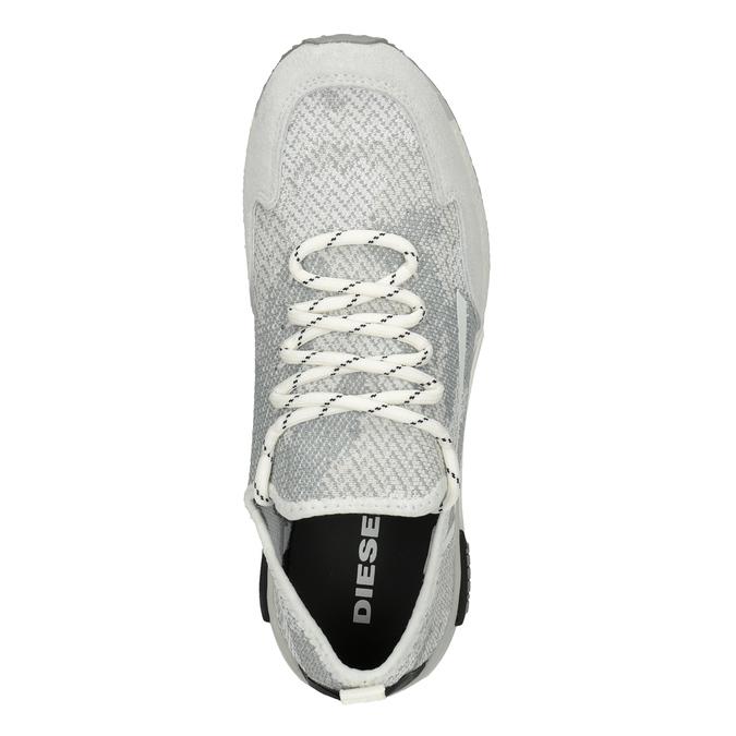 Ladies' sporty sneakers diesel, white , 509-1760 - 17