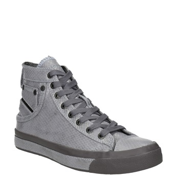 Ladies' ankle sneakers diesel, gray , 501-2743 - 13