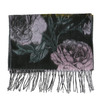 Ladies' scarf with floral pattern bata, violet , 909-9643 - 26