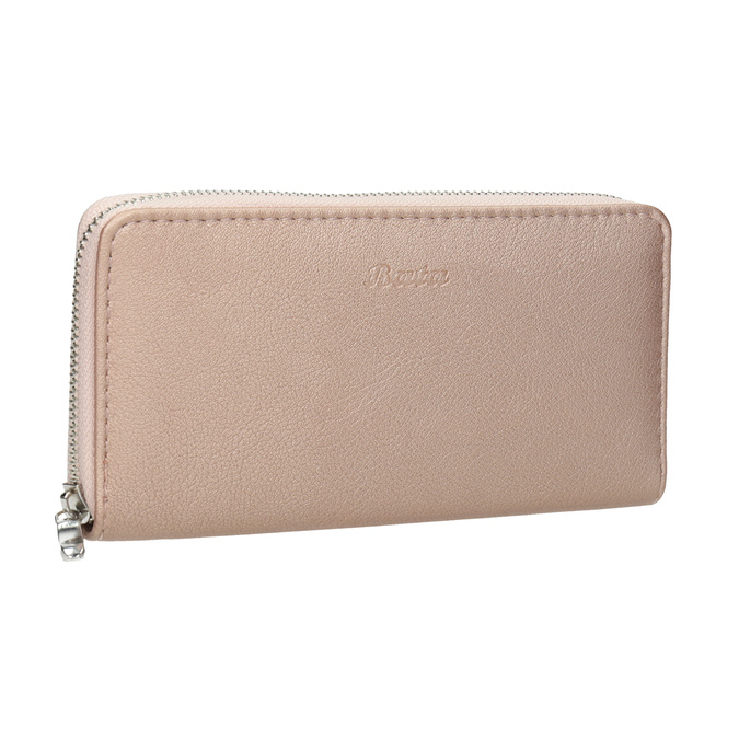 Ladies' Wallet, Pink bata, pink , 941-5155 - 13