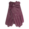 Ladies' leather gloves bata, violet , 904-0109 - 13