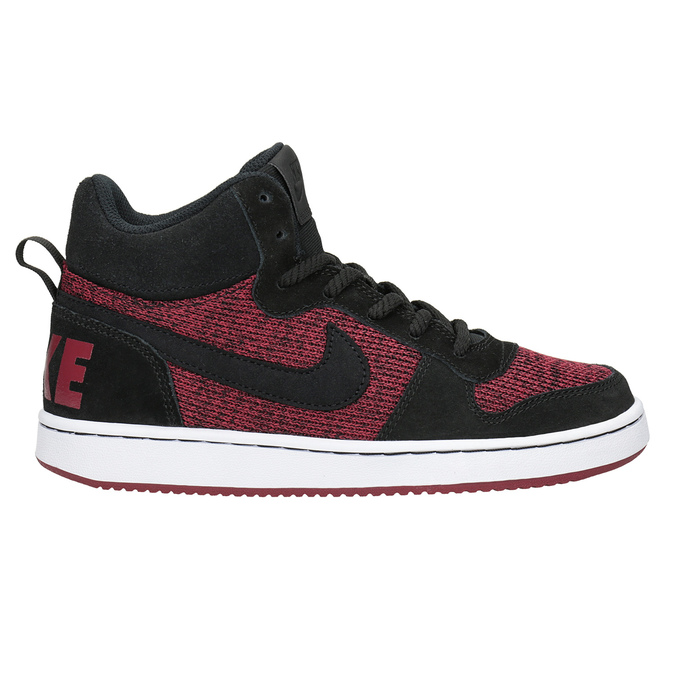 Children's High-Top Sneakers nike, red , 401-5405 - 16