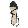 Ladies' party sandals with rhinestones bata, black , 729-6611 - 15