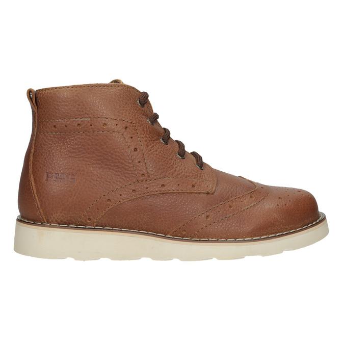 Children's leather ankle boots primigi, brown , 314-3004 - 16