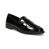 Ladies' patent moccasins bata, black , 511-6607 - 13