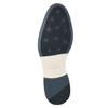 Men's leather Derby shoes bata, blue , 826-9924 - 17