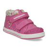 Pink leather ankle boots with Velcro bubblegummers, 121-5618 - 13