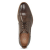 Men's Embellished Leather Shoes bata, brown , 826-4927 - 17