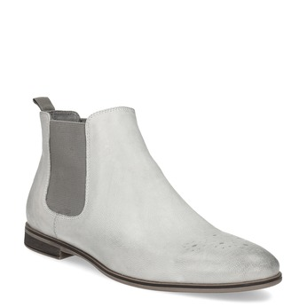 Ladies' Chelsea style boots bata, white , 596-1684 - 13