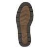 Men's leather shoes with distinctive sole bata, brown , 826-4917 - 18